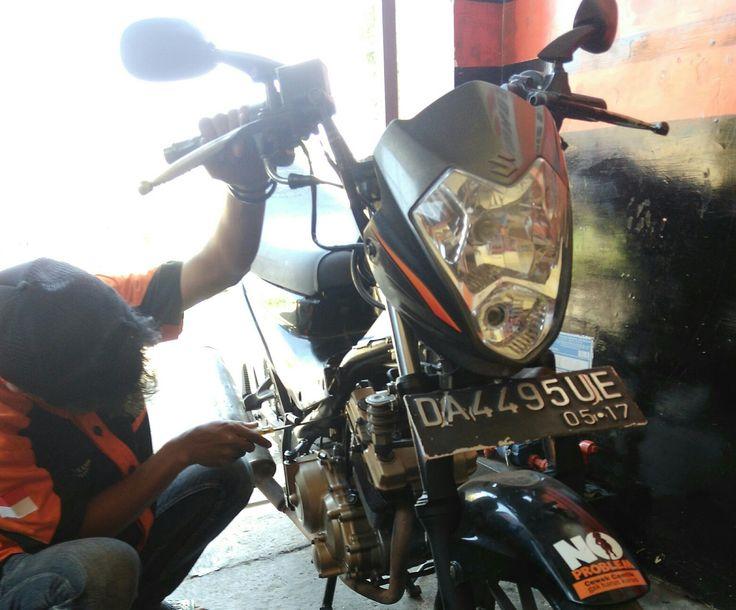 Setting karburator  Satria FU