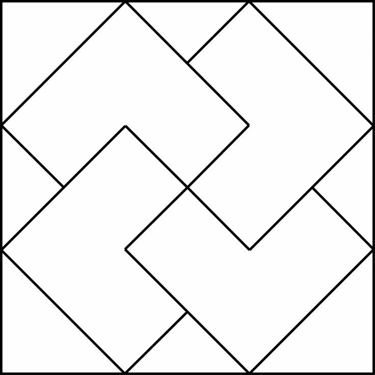 Simple Geometric Designs | Geometric Block Pattern 29 ...