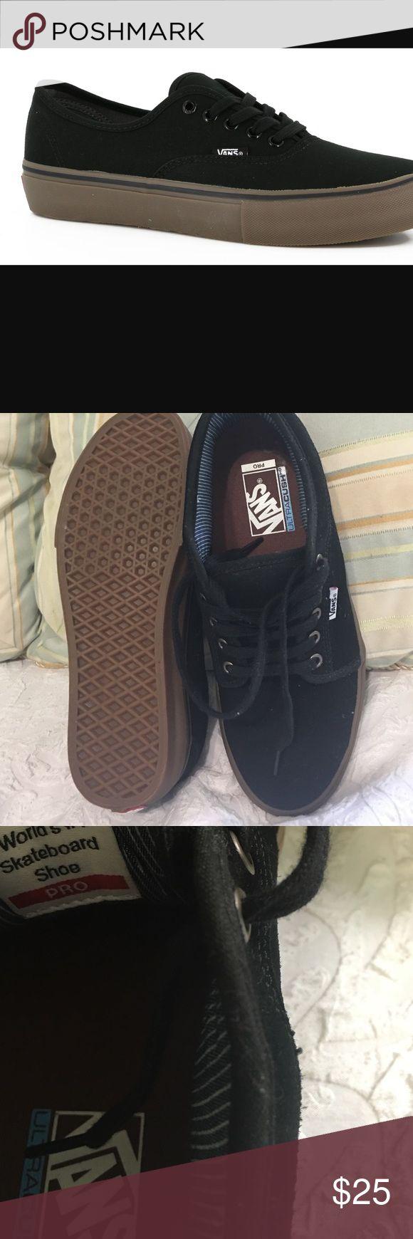 VANS authentic  PRO skate New never worn sz 9 men's ( no box) Vans Shoes Sneakers