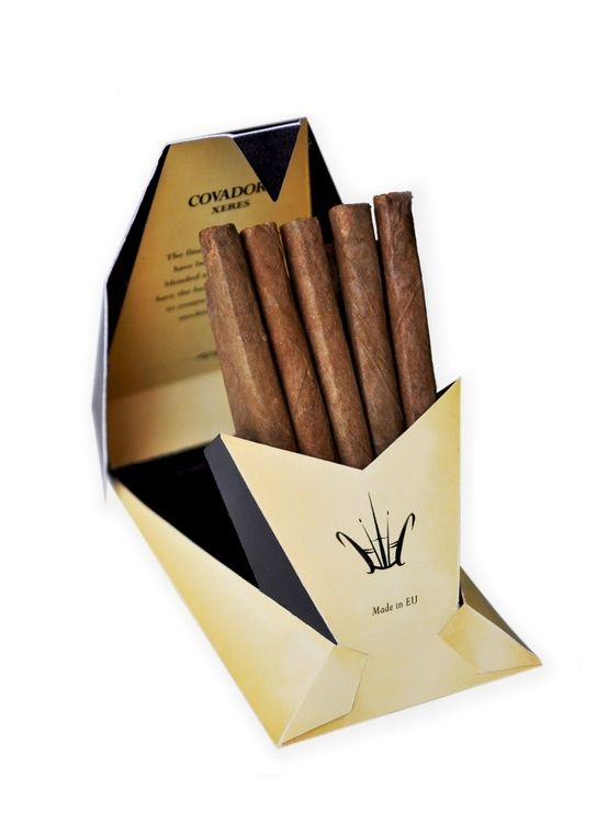 I don't smoke but if I did this Covador Xeres Cigar #packaging would get my attention PD