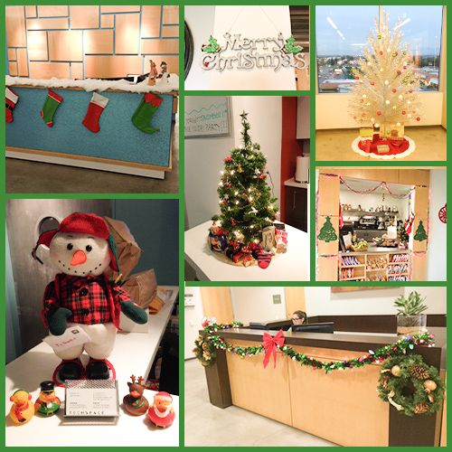 1000+ Images About Holiday Office Decorations On Pinterest