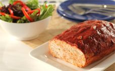 Meatloaf is a great family meal and this recipe is low-fat and a breeze to make. It has a great Italian taste by including parmesan cheese and pasta sauce.