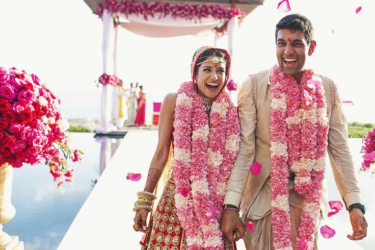 An Extravagant, Glamorous Indian Wedding at Amanyara in Turks and Caicos