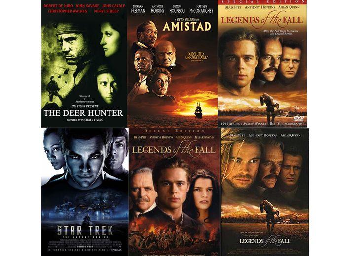 zesde moodboard. Voorbeeld van (avonturen) films met de hoofden van de personages in het groot afgebeeld