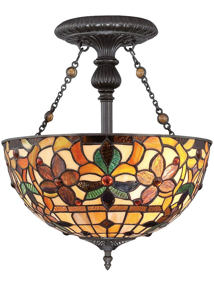 antique lighting fixtures kami semi flush ceiling light in vintage bronze finish - Antique Light Fixtures
