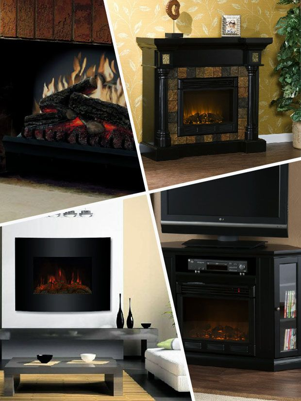 Fireplace Design touchstone fireplace : Best 20+ Black electric fireplace ideas on Pinterest | White ...