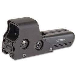 The EOTech 552 tactical red dot sight is the same optic our military uses. Get quick and accurate target acquisition with EOTech—one of the best dang holographic weapons sights on the market. If you click the picture now through August 15, you will get $60 cash back with EOTech's rebate. #reddotsight #eotech #holographicsights