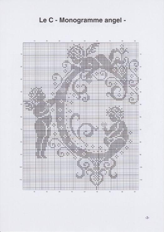 Gallery.ru / Фото #6 - JD327 - Monogrammes Angels - lyulnar