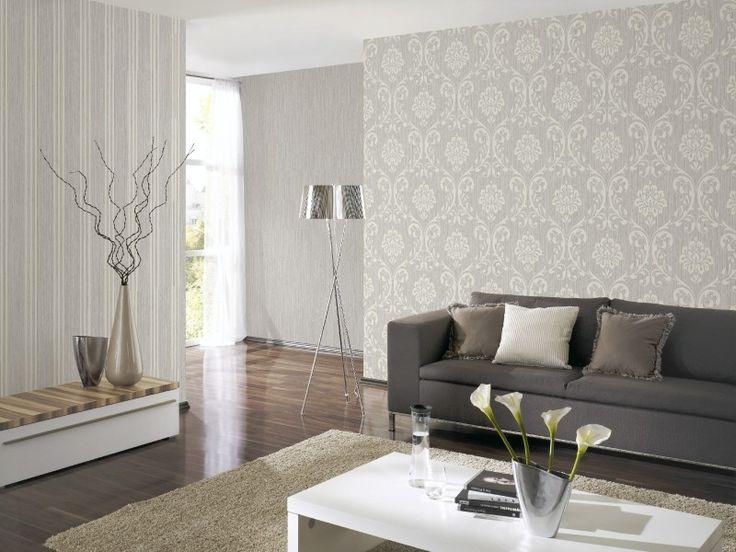 52 besten Romantic Cottage @ AS Création Bilder auf Pinterest - wohnzimmer grau silber