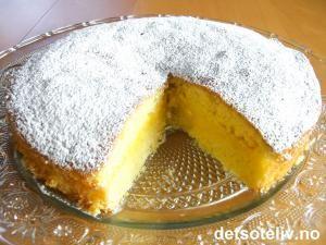 Lemon Curd Cake | Det søte liv