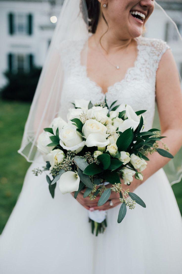 Wedding Bouquet Ideas Summer Fall Winter Simple White New