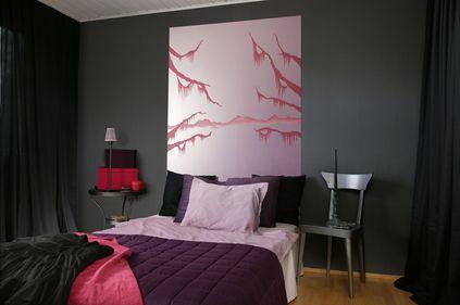 Mitä värejä makuuhuoneeseen