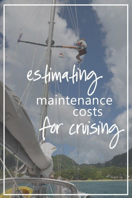 How much does boat maintenance cost while cruising? Is the rule of thumb 10%, 15%, or 20% of boat value?