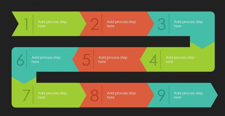 free-arrow-shape-infographic-diagram-powerpoint-template