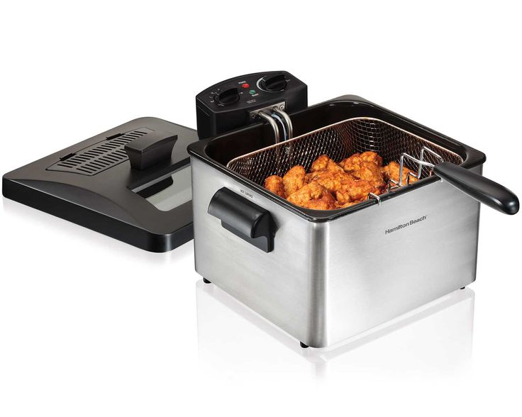 Professional-Style Deep Fryer | Deep Fryer | Hamilton Beach