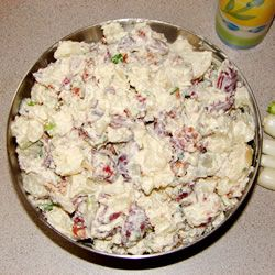 Texas Ranch Potato Salad--super easy and very yummy!