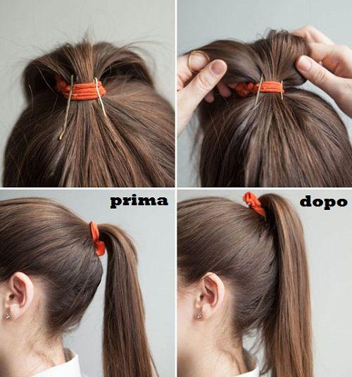 Forcine per capelli: quante sappiamo realmente come utilizzarle? Scoprilo qui! In più un piccolo segreto per una coda di cavallo semplice molto chic!
