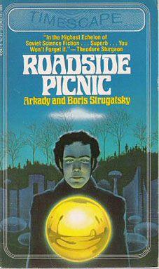 Roadside Picnic, by Boris and Arkady Strugatsky, book cover