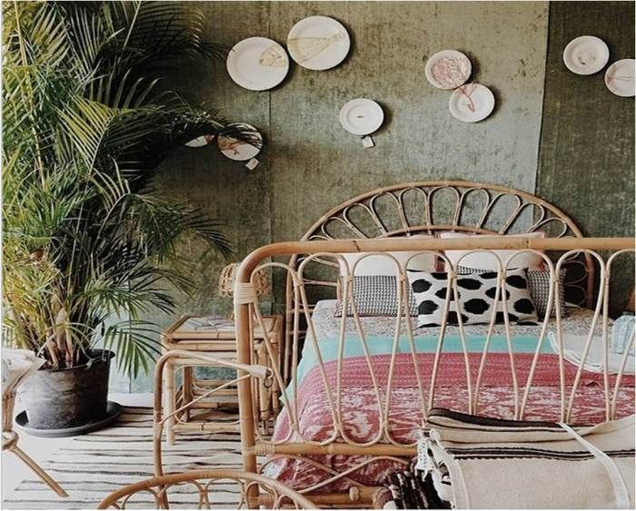 better pop ups sotogrande august tiretta living mueble de caña habitación decoracion vintage retro artesanal