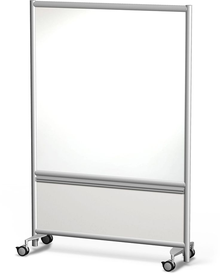 Annex Mobile Glass board have a sleek design and are engineered to be light weight, durable and our mobile dry erase boards surface is a non-ghosting high pressure laminate design for high usage.