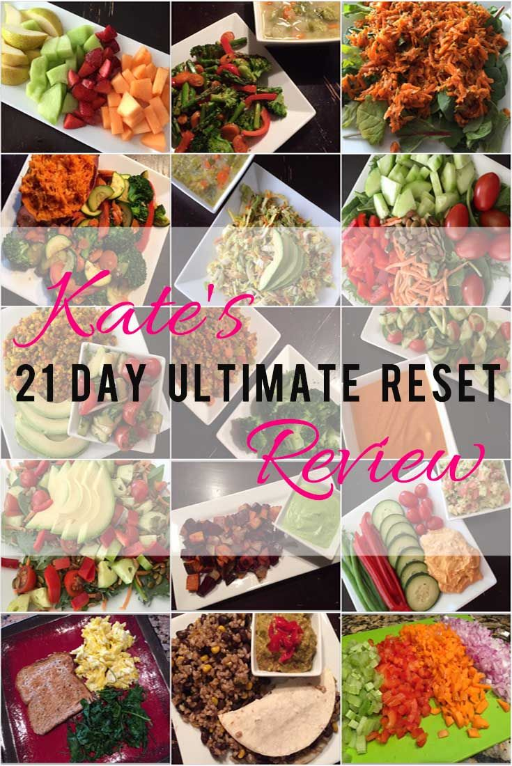 Kate's Ultimate Reset Review - Detox Cleans. No work out for 21 days - The Ultimate Reset Plan - Ultimate Reset Recipes - Detox Review