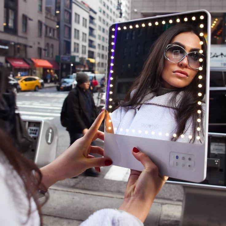 You Are Beautyful! RIKI Skinny - Smartspegel LED med selfie funktion