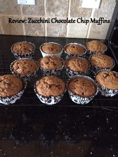 The Pintester: Chocolate Chip Zucchini Muffins: Do you have a bounty of zucchini you need to do something with? Check out these chocolate chip muffins!!  Even better, they have been made healthier!!