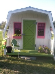 64 Best Images About Playhouse On Pinterest Cubby Houses