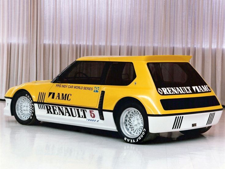 """1982 Renault 5 Turbo II """"PPG Indy Pace Car"""""""