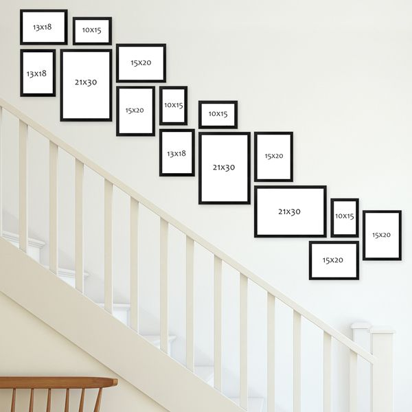 Bilderrahmen Im Treppenaufgang