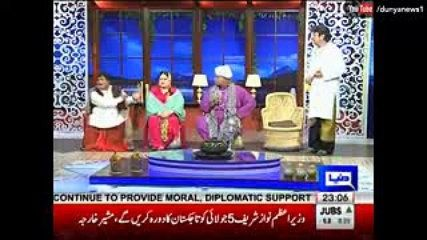 The Awesome World: Hasb e Haal With Azizi as Ranjha On Dunya News 30t...