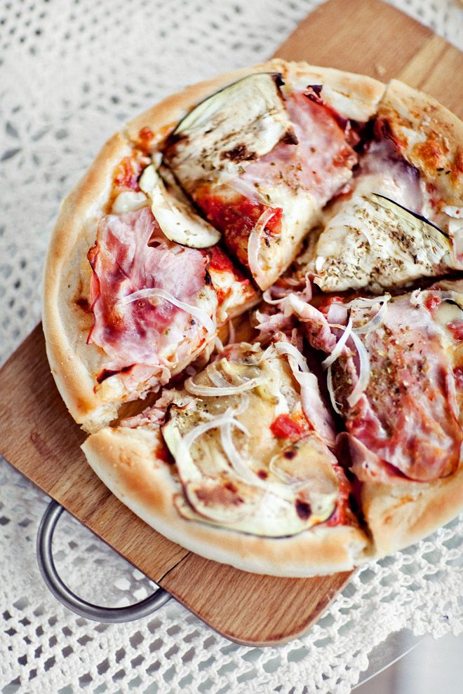 Puszysta pizza - Przepis