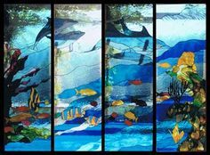 underwater stained glass - Google Search