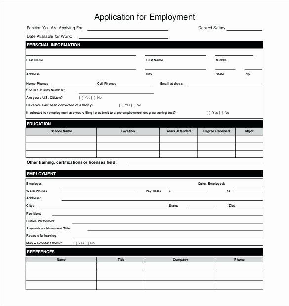 Simple Loan Application Form Template Best Of Simple Loan Application Form Sample Restaurant Templa Job Application Form Employment Application Job Application