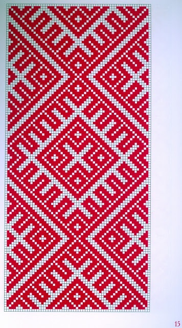 Folklored: Eastern Slav Embroidery Schemes - 2