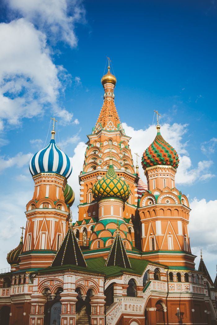 Bright Colors of St Basil Cathedral