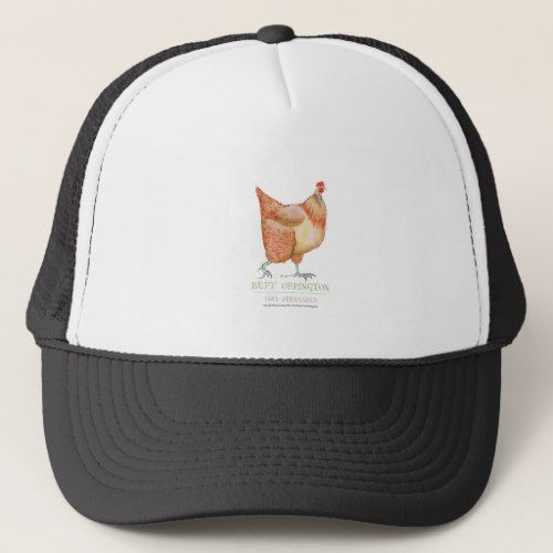 Buff Orpington hen, tony fernandes Trucker Hat
