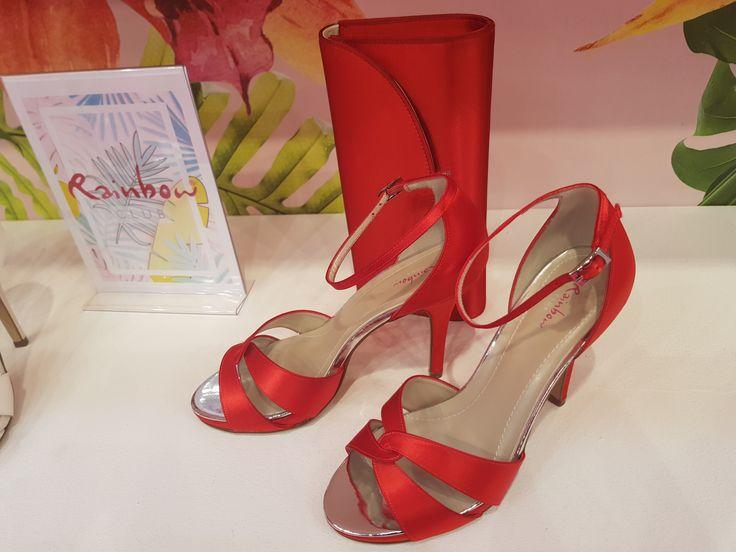 Elsa Coloured Shoes, Rainbow, Brautschuhe, halb of…