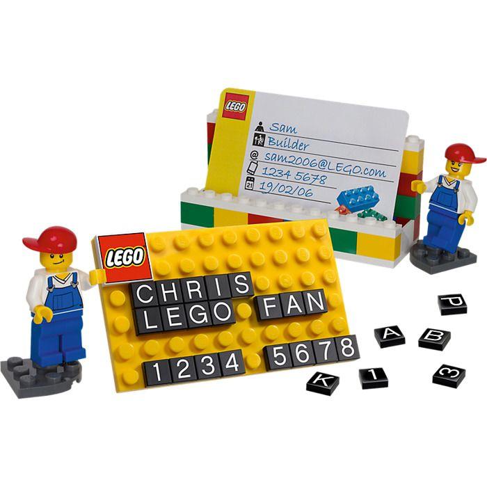Lego Visitenkartenhalter Anweisungen Sowie Lego Business