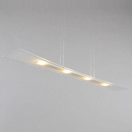 Lampa wisząca Nimo 100cm LED aluminium #designlampa #nowoczesnelampy #lampyled