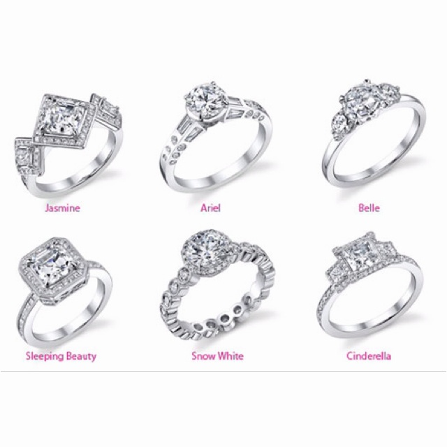 Engagement Rings Inspired By Disney Princesses