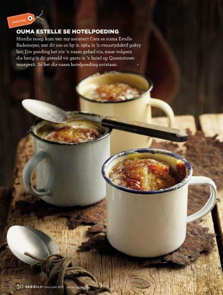 Individual puddings for cold winters [Source: Sarie Kos ZA, Jun-Jul 2012]