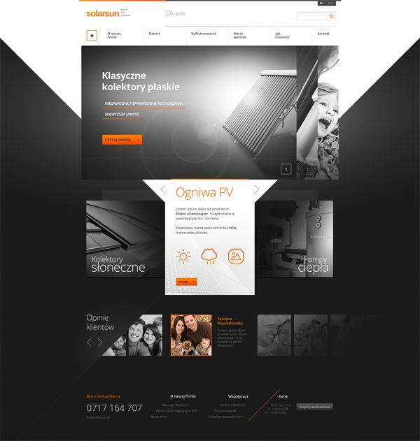 Solarsun by Karol Socha, via #Behance #Webdesign repinned by www.blickedeeler.de