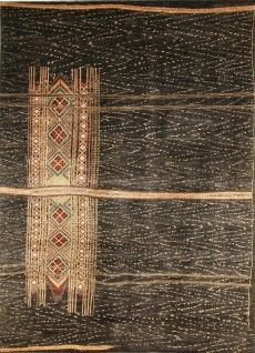 KHYBER COLLECTION DIMENSIONS: 307CM X 417CM Pure wool, hand woven by Afghani weavers in Pakistan -design inspired by Thai textiles