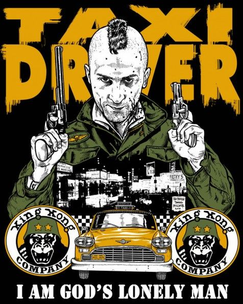 Taxi Driver by Nathan Milliner