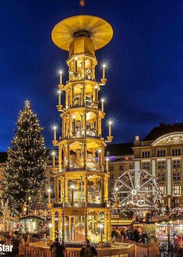 Weihnachten 2019 In Deutschland.Dresden Germany Germany Austria In 2019 Weihnachten In