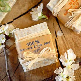 Domácí peelingové mýdlo
