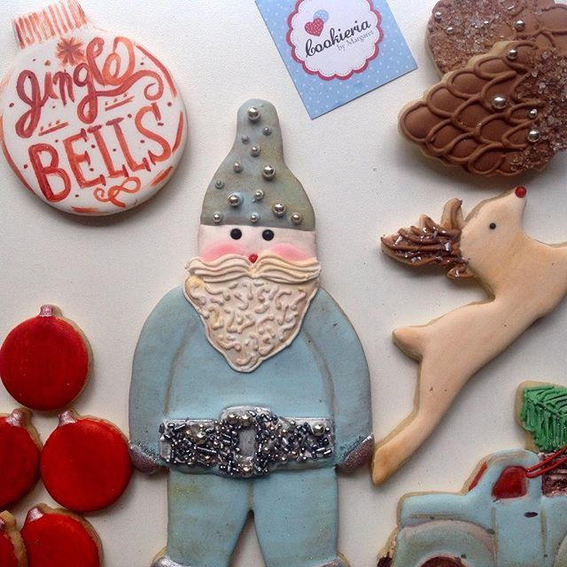 Natal Retro hoje aqui no @cookie_show_argentina 🇦🇷 #cookieria #cookieriabymargare #cookieriaoficial #biscoitosdecorados #bolachasdecoradas #cookiesnavideñas #cookieshowargentina #galletasdecoradas #sablés #biscuits #vintage #retro #cookieshowbuenosaires #christmascookies