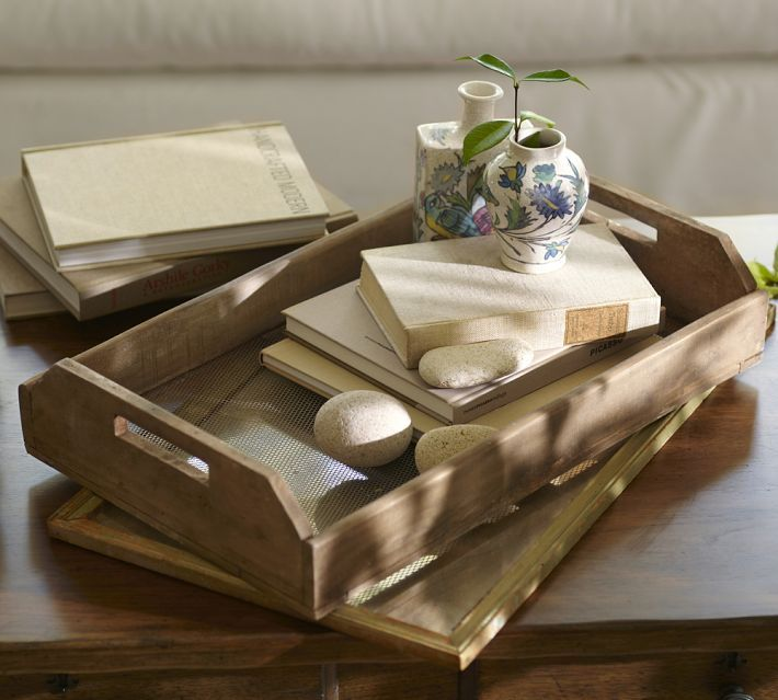 Wwwpotterybarn Com: Tray With Accessories - Pottery Barn