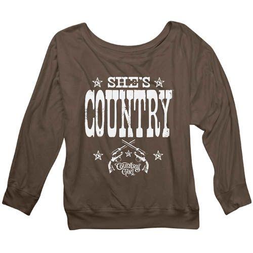 She's Country Sweatshirt